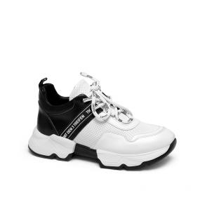 Дамски спортни обувки от естествена кожа ILV-4782