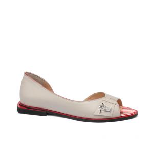 Дамски обувки от естествена кожа ILV-6142