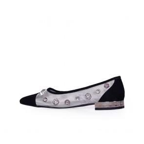 Дамски обувки от естествен велур ILV-5012 - 2