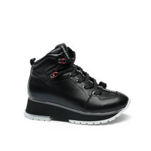 Дамски спортни обувки от естествена кожа ILV-7107
