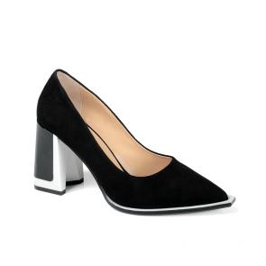Дамски обувки от естествен велур ILV-854-21