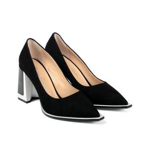 Дамски обувки от естествен велур ILV-854-21 - 2