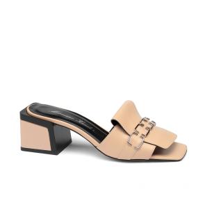 Дамски чехли от естествена кожа ILV-RG-744