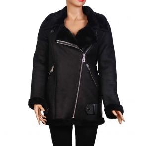 Дамско яке от естествена кожа ING-02