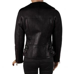 Дамско яке от естествена кожа ING-2131 - 2