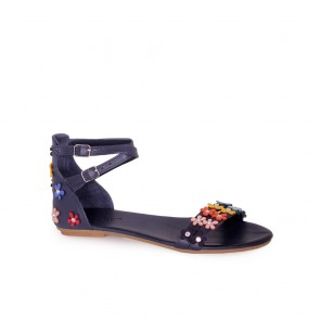 Дамски сандали от естествена кожа
