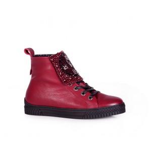 Дамски обувки от естесвена кожа