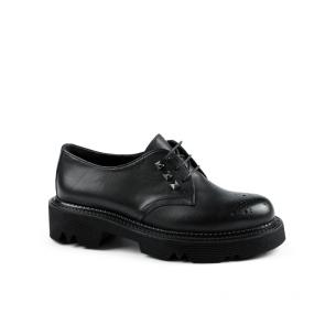 Дамски обувки от естествена кожа KM-298-2058