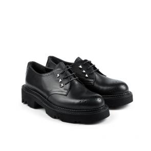 Дамски обувки от естествена кожа KM-298-2058 - 2