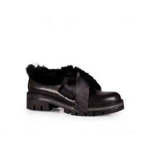 Дамски обувки от естественa кожа