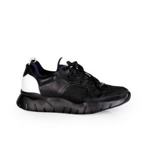 Мъжки обувки от естествена кожа и текстил