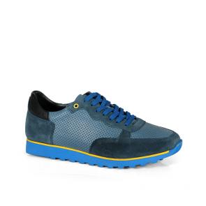 Мъжки обувки от естествен велур и кожа MCP-01687