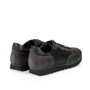Мъжки обувки от естествен велур и кожа MCP-01687 - 2