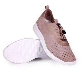 Мъжки обувки от естествен набук - 2