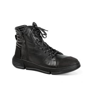 Мъжки обувки от естествена кожа и набук MCP-95526