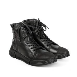 Мъжки обувки от естествена кожа и набук MCP-95526 - 2