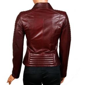 Дамско яке от естествена кожа MF-1331 - 2