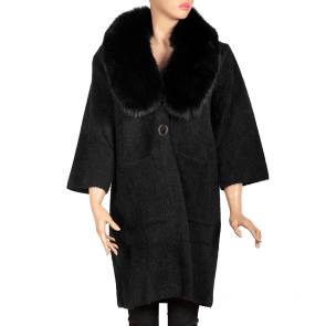 Дамско палто от ангора MK-19-19