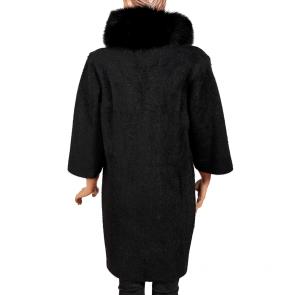 Дамско палто от ангора MK-19-19 - 2