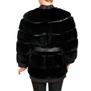 Дамско палто от естествена кожа MK-19-38 - 2