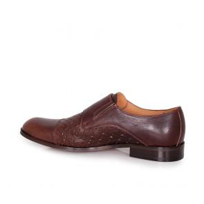 Мъжки обувки от естествена перфо кожа - 2