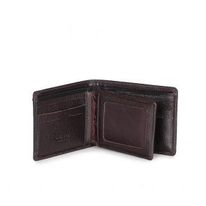 Мъжки портфейл от естествена кожа в кафяв цвят - 2