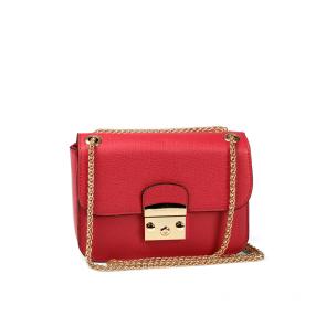 Дамска чанта от еко кожа и лак MZ-800868