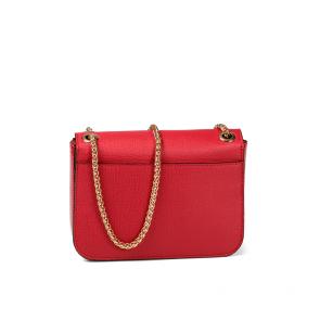 Дамска чанта от еко кожа и лак MZ-800868 - 2