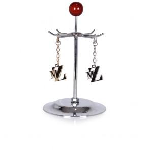 Аксесоар златист метален ключодържател - 2