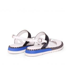 Дамски сандали от естествена кожа N55-11644 - 2