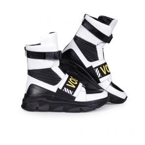 Дамски спортни обувки от естествена кожа N55-GM-2618 - 2
