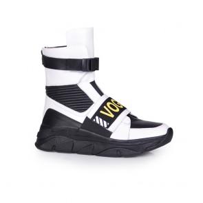 Дамски спортни обувки от естествена кожа N55-GM-2618