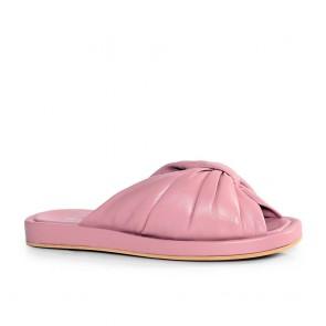 Дамски чехли от естествена кожа N55-28-559
