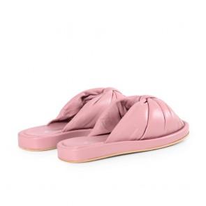 Дамски чехли от естествена кожа N55-28-559 - 2