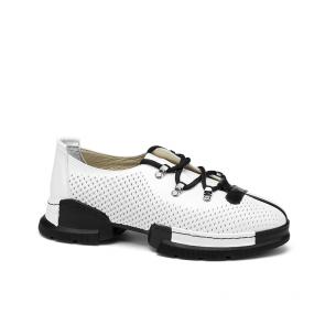 Дамски спортни обувки от естествена кожа NFR-128505/1