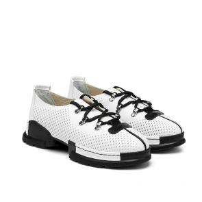 Дамски спортни обувки от естествена кожа NFR-128505/1 - 2