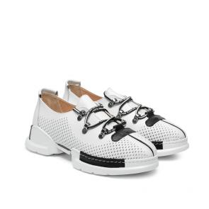 Дамски спортни обувки от естествена кожа NFR-128505 - 2