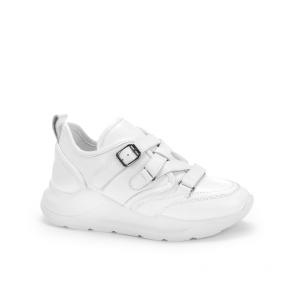 Дамски спортни обувки от естествена кожа NFR-202651