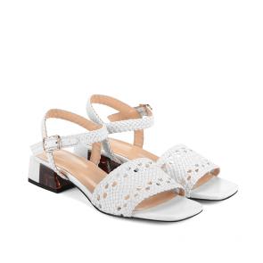 Дамски сандали от естествена кожа NFR-2492 - 2