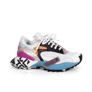 Дамски спортни обувки от естествена кожа NFR-252-2890