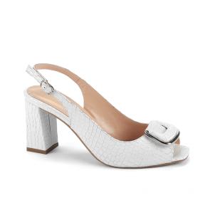 Дамски сандали от естествен лак NFR-2525