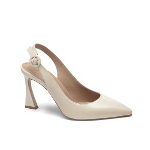 Дамски обувки от естествена кожа NFR-2557