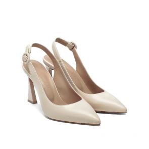 Дамски обувки от естествена кожа NFR-2557 - 2