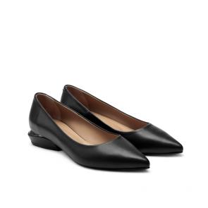 Дамски обувки от естествена кожа NFR-2575 - 2