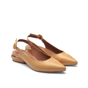 Дамски обувки от естествена кожа NFR-2576 - 2