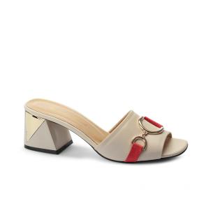 Дамски чехли от естествена кожа NFR-3047