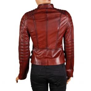 Дамско яке от естествена кожа  - 2