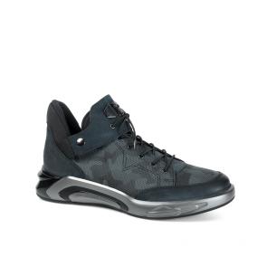 Мъжки обувки от естествена кожа и набук PRG-10306