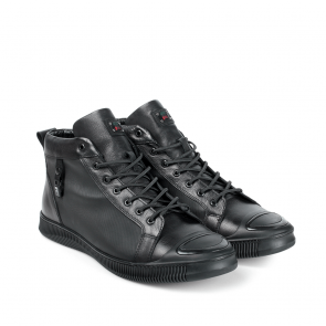 Мъжки обувки от естествена кожа PRG-12412 - 2