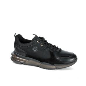 Мъжки обувки от естествена кожа и велур PRG-12419